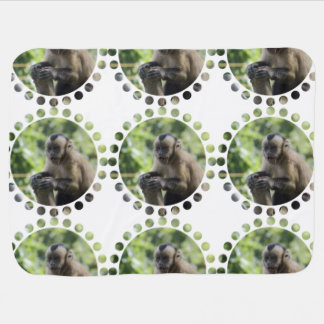 monkey-92 baby blanket