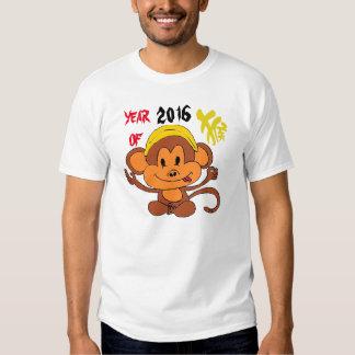 Monkey alrededor el año 2016 playera