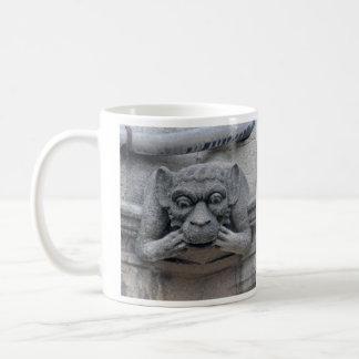 Monkey and baboon gargoyle mug