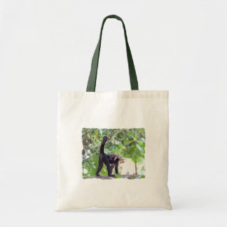 Monkey and Baby Tote Bag