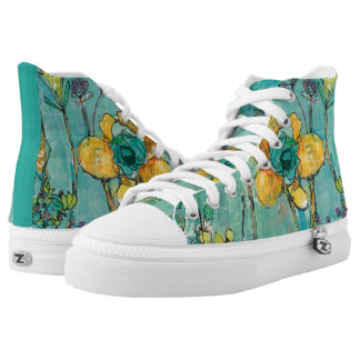 Monkey and Mommy High-Top Sneakers