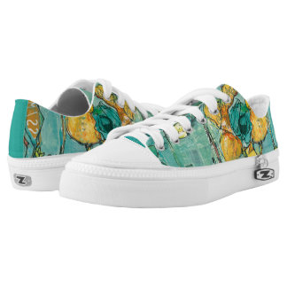Monkey and Mommy Low-Top Sneakers