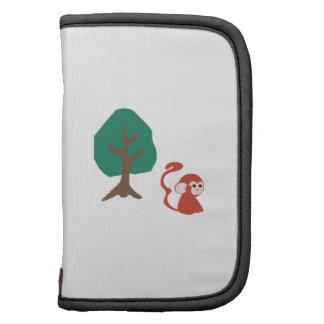 Monkey And Tree Folio Planner