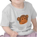 Monkey Ape Chimp Gorilla Head Tee Shirts