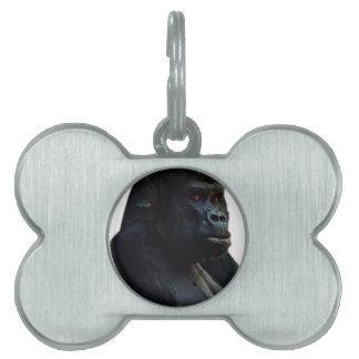 Monkey Ape Music Fun Pet ID Tag
