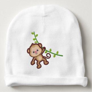 Monkey Baby Beanie
