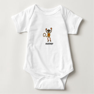 Monkey Baby Bodysuit