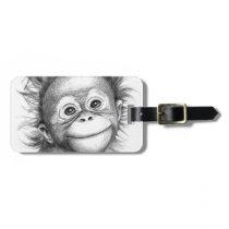 Monkey - Baby Orang outan 2016 G-121 Bag Tag