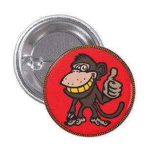 Monkey Badge 1 Button