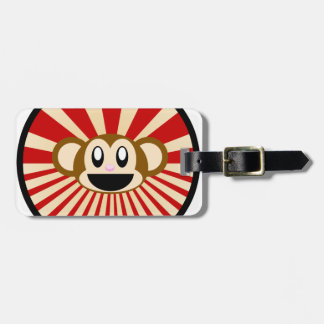 Monkey! Bag Tag