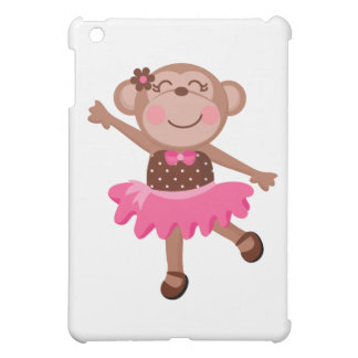 Monkey Ballerina iPad Mini Cover