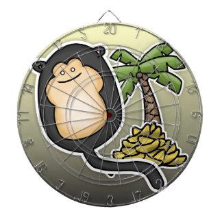 Monkey Balloon Dartboard With Darts
