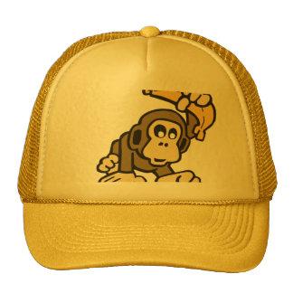 Monkey Banana Trucker Hat