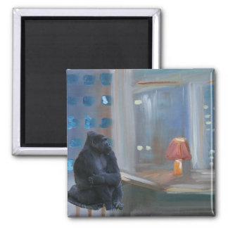 Monkey Bar 2 Inch Square Magnet