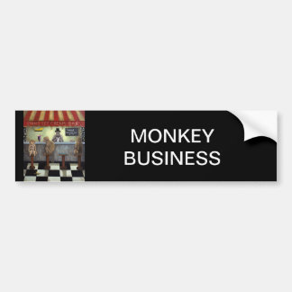 Monkey Bar Bumper Sticker
