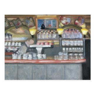 Monkey Bar & La Palette Postcard