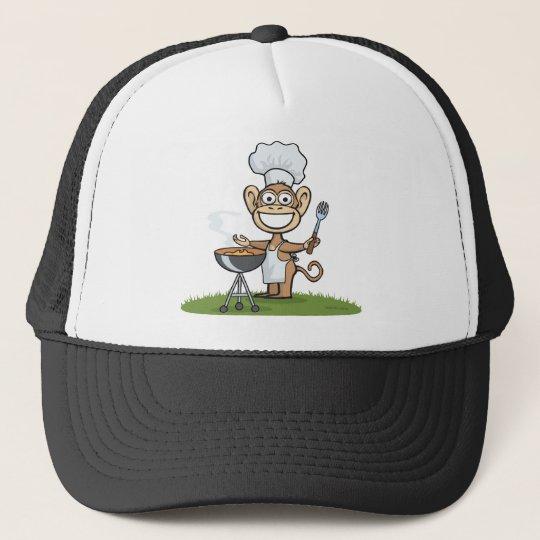 Monkey Barbecue Trucker Hat