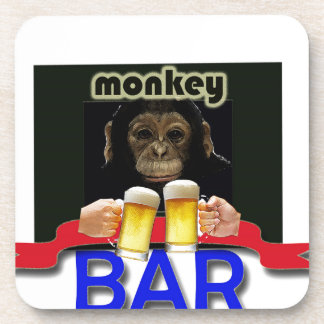 MONKEY BARS MAN DRINK COASTER