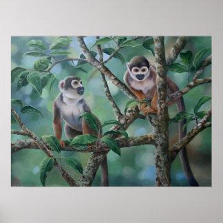 """""""Monkey Bars"""" Poster"""