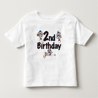 Monkey Baseball 2nd Birthday Tshirts and Gifts