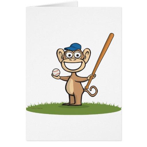 Baseball Monkey