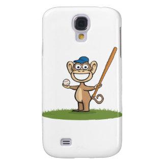 Monkey Baseball Samsung Galaxy S4 Cover