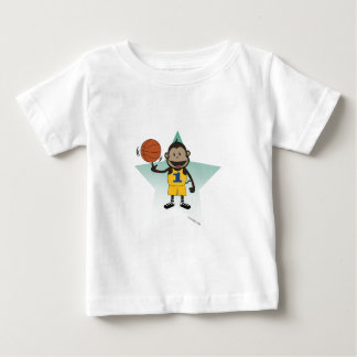 Monkey Basketball- infant shirt