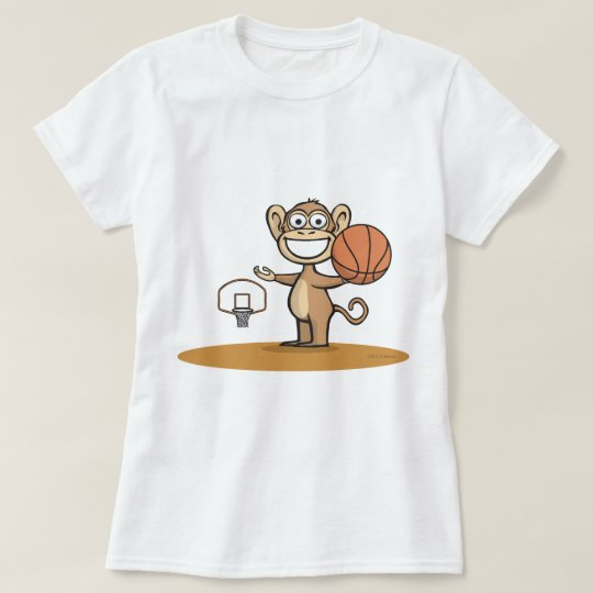 Monkey Basketball T-Shirt