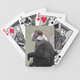 Monkey Bicycle Playing Cards