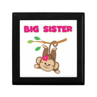 Monkey Big Sister Jewelry Box