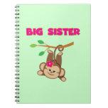 Monkey Big Sister Notebook