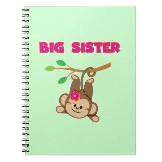 Monkey Big Sister Spiral Notebook
