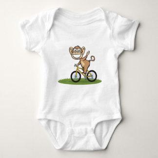 Monkey Biker Baby Bodysuit