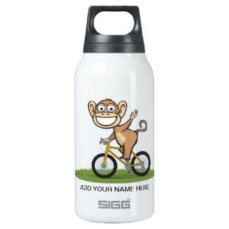 Monkey Biker Insulated Water Bottle