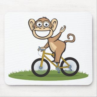 Monkey Biker Mouse Pad