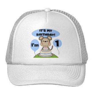 Monkey Birthday Boy 1st Trucker Hat