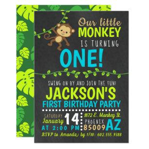 Monkey Invitations 2700 Monkey Announcements Invites