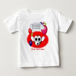 Monkey Birthday Party Baby T-Shirt