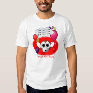 Monkey Birthday Party T-Shirt