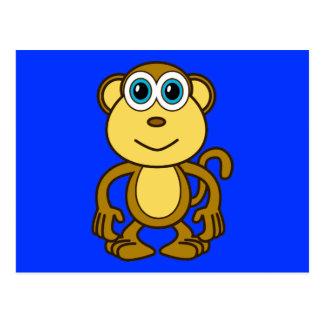 Monkey Bizness Design Postcard