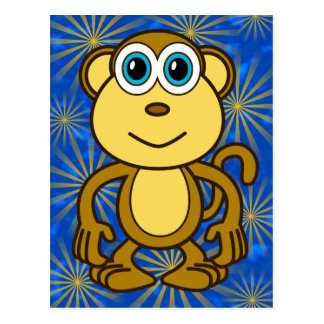 Monkey Bizness Design Postcard
