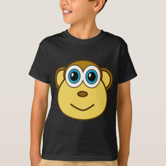 Monkey Bizness Face Design T-Shirt