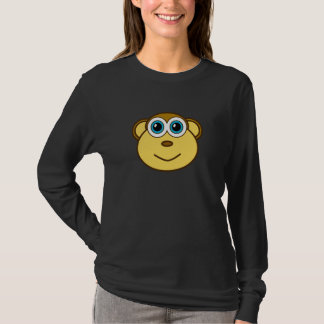 Monkey Bizness Face Small Design T-Shirt