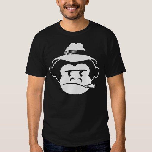 Monkey Black Tee