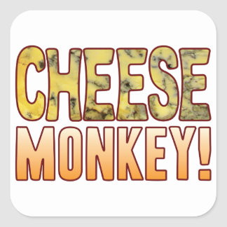 Monkey Blue Cheese Square Sticker