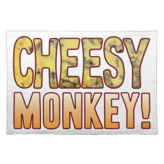 Monkey Blue Cheesy Placemat