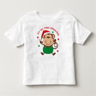 Monkey Boy 1st Christmas Toddler T-shirt