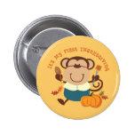 Monkey Boy 1st Thanksgiving Pin