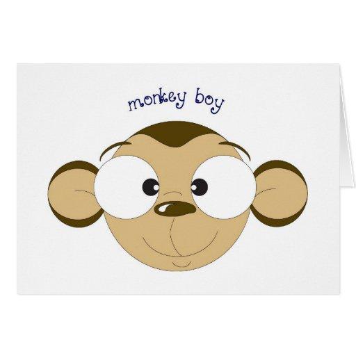 Monkey Boy Card