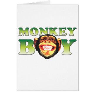 Monkey Boy Cards